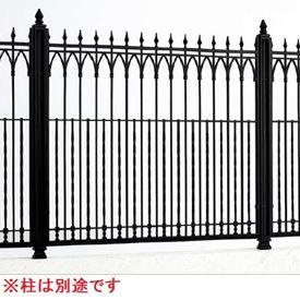 四国化成 ロードスフェンスM1型 本体 1010サイズ LDF1M-1010BK 『アルミフェンス 柵』 ブラックつや消し