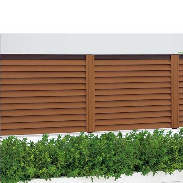四国化成 ハイ パーテーション2型 本体 0812サイズ HPT2-0812 『目隠しルーバー 樹脂フェンス 柵』