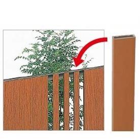 四国化成 ハイ パーテーション1型用 追加用縦格子材(5本入) H1000用 WDB-10 『樹脂フェンス 柵』