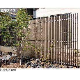 四国化成 エル パーテーションA1型 直線本体 2112サイズ LPTA1-2112SC 『樹脂フェンス 柵』 ステンカラー