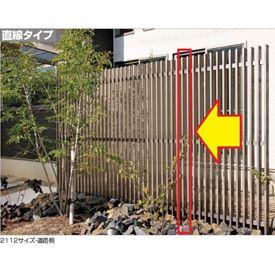 四国化成 エル パーテーションA1型 08:主柱 H18用 08MP-18SC 『樹脂フェンス 柵』 ステンカラー