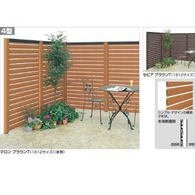 四国化成 ハイ パーテーション4型 本体B(下段用) 0912サイズ HPT4-U0912 『樹脂フェンス 柵』