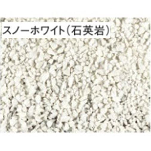 東洋工業 化粧砂利 クラッシュストーンV (粒径約10~30mm) 1袋 *約20kg分 スノーホワイト(石英岩)  『(TOYO) トーヨー』