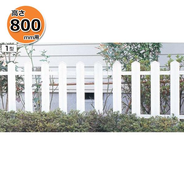 三協アルミ ララミー1型 フェンス本体 2008 フリー支柱タイプ 『アルミフェンス 柵 高さ H800mm用』