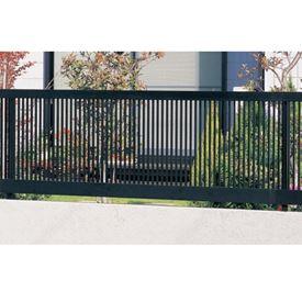 三協アルミ モンブレム1N型 フェンス本体 フリー支柱タイプ 2008 『アルミフェンス 柵 高さ H800mm用』 ブラック