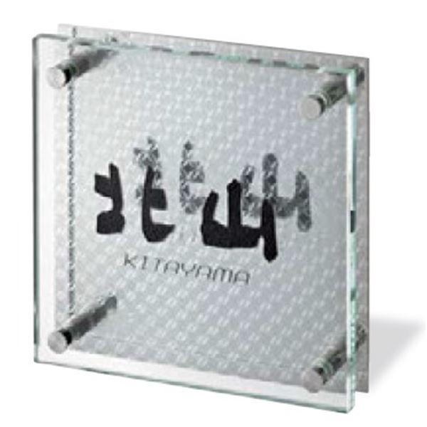美濃クラフト シャイン+ガラス リングライン GP-91 『表札 サイン 戸建』