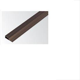 タカショー 人工竹垣材料 壁貼用アルミ胴縁 20×70 L3700 長尺 KAB-207 『ガーデニングDIY部材』 ブロンズ
