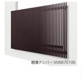 YKKAP ルシアススクリーン2 持ち出しブラケットタイプ アルマイト 幅725mm×高さ580mm MSC-06005-1A 『取付金具は別売』