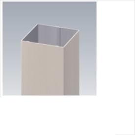 三協アルミ α-Pro アルファプロ 格子材 (4mタイプ) 75×75 KZK4M-75×75-1 『外構DIY部品』 形材色