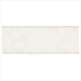 タカショー エバーアートフェンス 縦細格子 2006 フェンス本体(1枚) 『アルミフェンス 柵』 ホワイトパイン