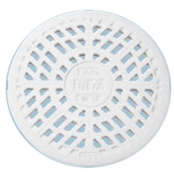 城東テクノ 丸マス蓋 250型/格子蓋/耐圧タイプ 雨水 JT2-250KW 5枚入 『外構DIY部品』 ホワイト(JC)