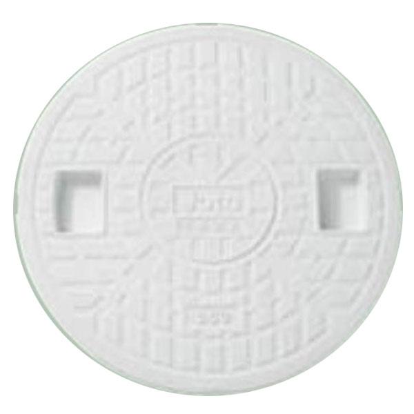 城東テクノ 丸マス蓋 300型 Joto JM-300CW 5枚入 『外構DIY部品』 ホワイト(JC)