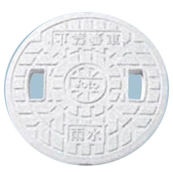 城東テクノ 丸マス蓋 300型 雨水(穴あり) JM-300ULW 5枚入 『外構DIY部品』 ホワイト(JC)