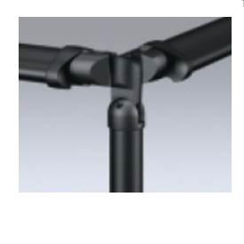 三協アルミ エトランポU3型・U4型用 コーナー埋め込み支柱 H=1000用 1本入り