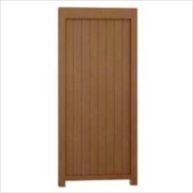 リクシル TOEX Gスクリーン 板塀タイプ 基本本体 H24 W10 『アルミフェンス 柵』 木調カラー