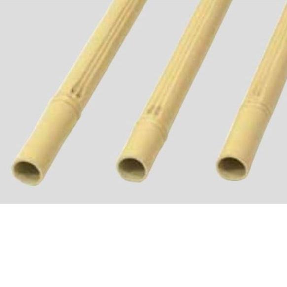 グローベン パネル・丸竹(人工) 極み竹1 30径 黄 節塗装あり 30.0径×L4000 A40EQ130TY 『ガーデニングDIY部材』