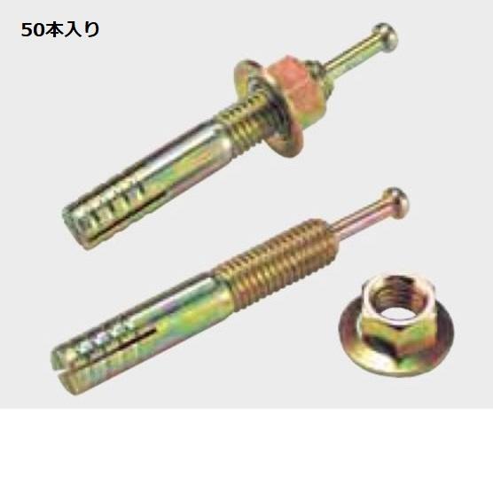 グローベン 構造部材 アンカーボルト 10×60 50本入 A50KD106 『外構DIY部品』