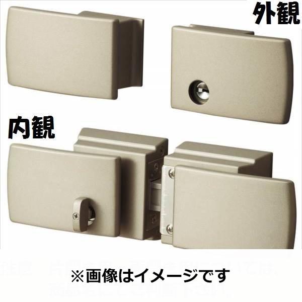 三協アルミ 形材門扉用 錠前 タッチ錠 両開き用 LXT-01 『単品購入価格』