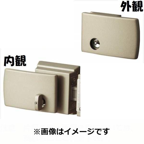 三協アルミ 形材門扉用 錠前 タッチ錠 片開き用 LVT-01 『単品購入価格』