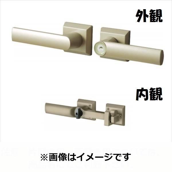 三協アルミ 形材門扉用 錠前 打掛け錠 両開き用 LXU-01 『単品購入価格』