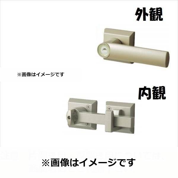 三協アルミ 形材門扉用 錠前 打掛け錠 片開き用 LFU-01 『単品購入価格』