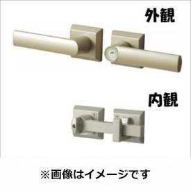 三協アルミ 形材門扉用 錠前 打掛け錠 両開き用 LRU-01 『単品購入価格』