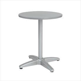 ユニソン テーブル&チェア ラウンドテーブル AU600 『ガーデンテーブル』 シルバー