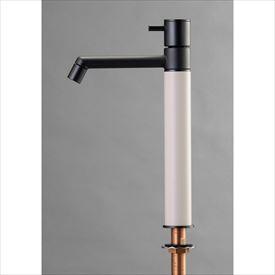 オンリーワン デザイン水栓/マニル ブラックめっき ロング TK4-1LKV バニラ