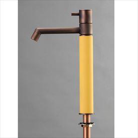 オンリーワン デザイン水栓/マニル 金古美めっき ロング TK4-1LCPG ポタージュ