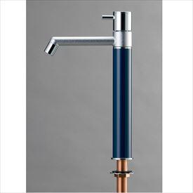 オンリーワン デザイン水栓/マニル クロムめっき ロング TK4-1LNN ネイビー