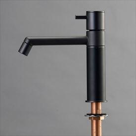 オンリーワン デザイン水栓/マニル ブラックめっき ノーマル TK4-1NKB マットブラック