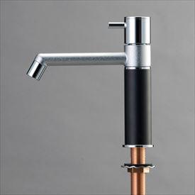 オンリーワン デザイン水栓/マニル クロムめっき ノーマル TK4-1NNB マットブラック