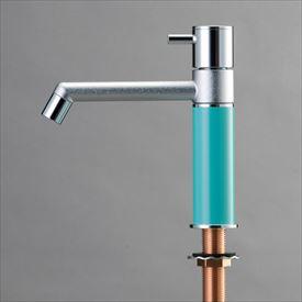 オンリーワン デザイン水栓/マニル クロムめっき ノーマル TK4-1NNT ターコイズブルー