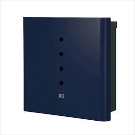 オンリーワン ヴァリオ ネオ スキン アルファ 壁掛けタイプ(鍵無し) NA1-ON01NB 『郵便ポスト』 ナイトブルー