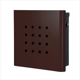 オンリーワン ヴァリオ ネオ スキン パンチ 壁掛けタイプ(T型カムロック付) NA1-OT02FB 『郵便ポスト』 フォレストブラウン