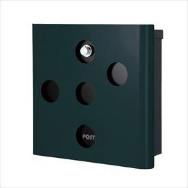オンリーワン ヴァリオ ネオ スキン イレギュラー 壁掛けタイプ(ダイヤル錠付) NA1-OA03FG 『郵便ポスト』 フォレストグリーン