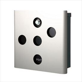 オンリーワン ヴァリオ ネオ スキン イレギュラー 壁掛けタイプ(ダイヤル錠付) NA1-OA03SI 『郵便ポスト』 シルバー