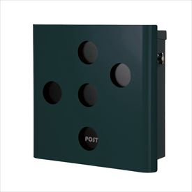 オンリーワン ヴァリオ ネオ スキン イレギュラー 壁掛けタイプ(T型カムロック付) NA1-OT03FG 『郵便ポスト』 フォレストグリーン