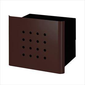 オンリーワン ヴァリオ ネオ スキン パンチ 埋め込みタイプ(鍵無し) NA1-PL02FB 『郵便ポスト』 フォレストブラウン