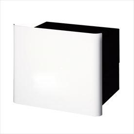 オンリーワン ヴァリオ ネオ グラフ プレーン 埋め込みタイプ(鍵無し) NA1-PL04WH 『郵便ポスト』 ホワイト