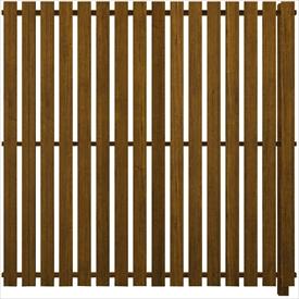 YKKAP ルシアス スクリーンフェンス S04型 連結用セット T200J (たて板格子) 『アルミフェンス 柵』 2017年6月から新仕様 木目カラー