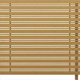 YKKAP ルシアス スクリーンフェンス S05型 連結用セット T200J (横板格子+細横格子) 『アルミフェンス 柵』 2017年6月から新仕様 木目カラー