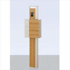 リクシル ファンクションユニット ルミフェイス 組合せ例19-1 『機能門柱 機能ポール』