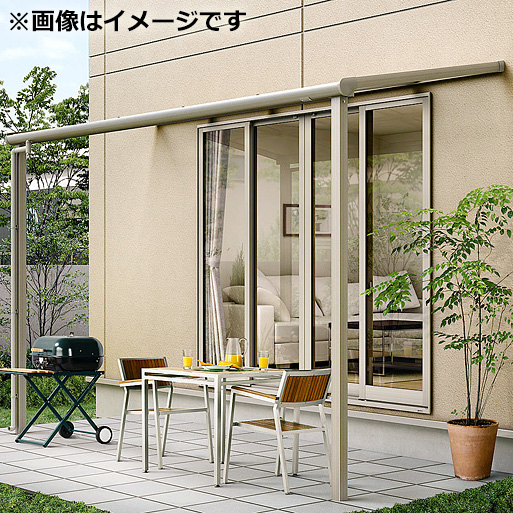 リクシル パワーアルファ テラスタイプ50cm(1500タイプ) 関東間 間口1.0間×出幅6尺 標準仕様 F型 ポリカ屋根