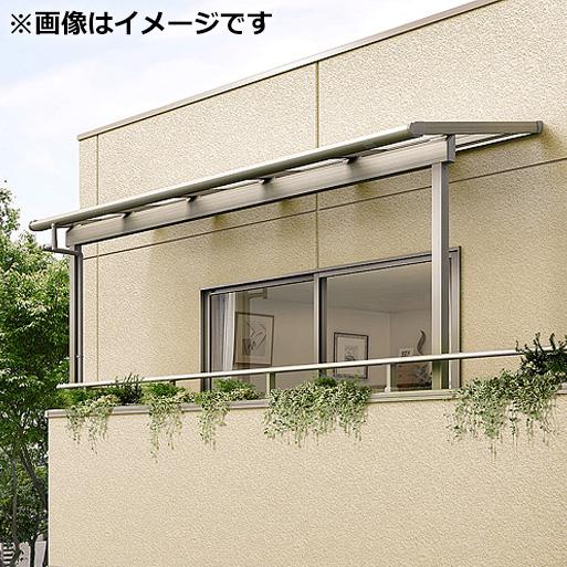 リクシル パワーアルファ 造り付けバルコニー用 テラスタイプ50cm(1500タイプ) 関東間 間口1.0間×出幅9尺 出幅自在桁仕様 F型 ポリカ屋根