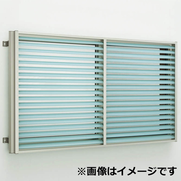 YKKAP 多機能ポリカルーバー 引違い窓用本体 標準 幅895mm×高さ800mm 1MG-08007 上下同時可動 『取付金具は別売』