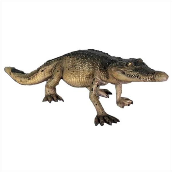 FRP 歩くクロコダイル・120cm / Crocodile Walking 4ft 『動物園オブジェ アニマルオブジェ 店舗・ホテル向け』