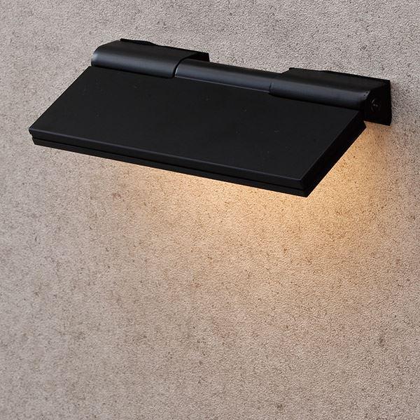 タカショー 表札灯(ローボルト) エクスレッズ フラットウォールライト1型 HBA-D04K #61797500 *LED交換不可 『エクステリア照明 ライト』 ブラック