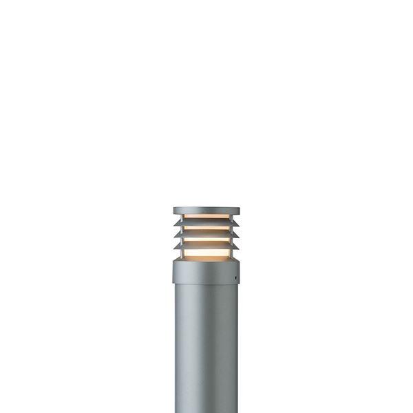 タカショー ポールライト(ローボルト) エクスレッズ ポールライト16型 ルーバー HBC-D34L #71524400 『エクステリア照明 ライト』 スレートシルバー