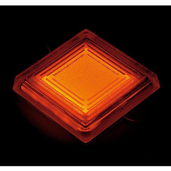 タカショー タイルドライト(ローボルト) スタンダードカラー TLD-J04O #48851300 *LED交換不可・別途レベル調整台が必要 『エクステリア照明 ライト』 LED色:オレンジ